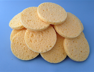 Cellulose Facial Sponges- 12-pk. #20912
