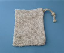 Cotton/Ramie Soap Sack #495