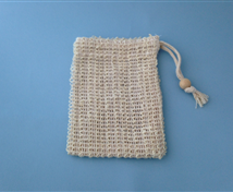 Soap Sack & Saver Bag #490 (soft sisal)