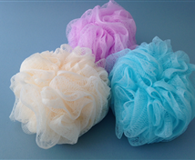 Net Bath and Shower Sponge (4 Pack)