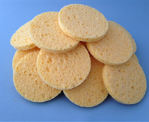 Cellulose Facial Sponges (100 Pack)